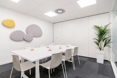 Alquiler de oficinas en Barcelona, Sarrià Sant Gervasi. Alquiler de salas de reuniones en Barcelona.