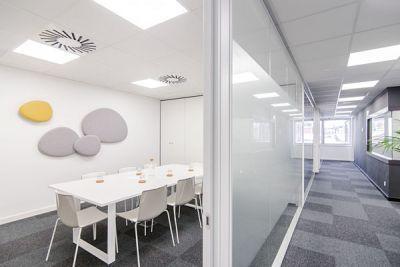 Alquiler de oficinas y salas de reuniones en Barcelona, Sarrià Sant Gervasi. Oficinas virtuales Barcelona