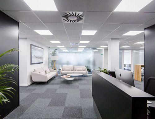 Zonas comunes 5 mitre workspace alquiler de oficinas en for Oficina virtual aguas de barcelona