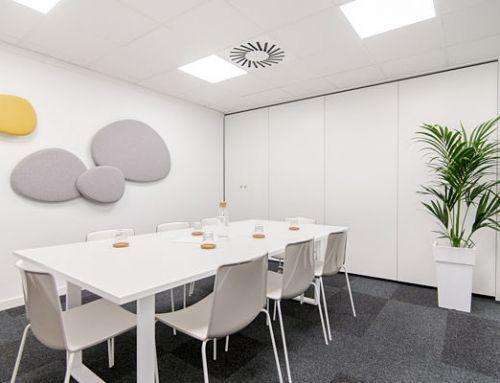 Salas de reuniones 4. Oficinas y salas de reuniones en alquiler Barcelona, Sarrià – Sant Gervasi. Centro de Negocios Mitre Workspace