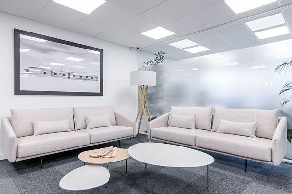 Alquiler oficinas en Barcelona. Zonas comunes del centro de negocios Mitre Workspace