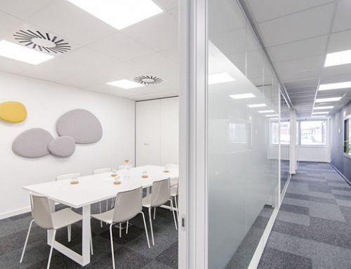 Salas de reuniones 5. Oficinas y salas de reuniones en alquiler Barcelona, Sarrià – Sant Gervasi. Centro de Negocios Mitre Workspace