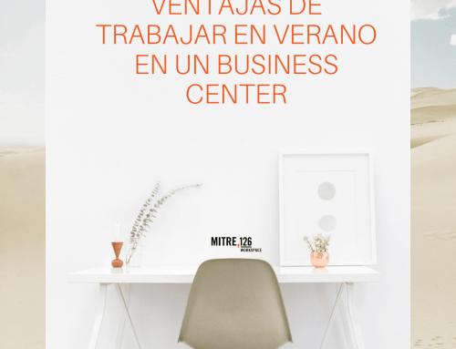 Ventajas de trabajar en verano en un Business Center
